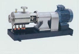 高剪切分散均质乳化泵