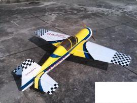 轻木模型飞机YAK54-30CC