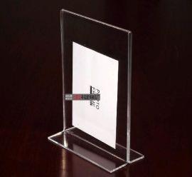 透明亚克力台卡/有机玻璃台签(L形) (TK-001)