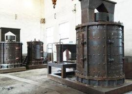 高炉渣破碎机 时产150吨立式板锤制砂机
