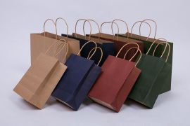 牛皮纸手提袋 服装包装袋通用 礼品纸袋定做
