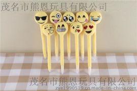 時尚創意QQ表情圓珠筆 可愛表情圓珠筆 高檔禮品學生圓珠筆