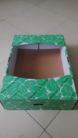加工定制各种规格的彩色蔬菜纸箱 瓦楞纸箱(**精美)