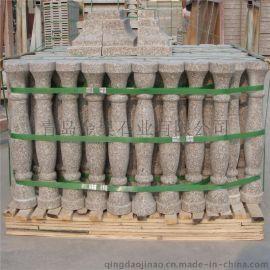 海阳红石材宝瓶柱