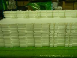 塑料板定制加工 PP板定做 PP磨砂塑料板