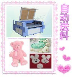 济南毛绒玩具切割设备布料激光裁剪机器