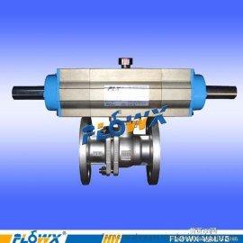 三段式装车球阀 ,进口三段式气动球阀,二段式装车系统气动球阀