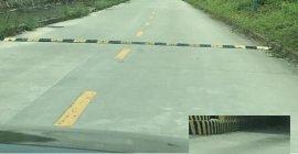 香洲减速带驾车技巧,香洲标志牌保养香洲车位锁
