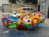 廟會遊樂設備旋轉飛艇滎陽市三和遊樂設備廠