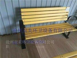北京园林座椅实木塑木防腐木平凳户外休闲靠背椅树木围椅