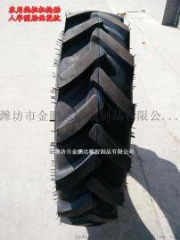 农用拖拉机收割机轮胎13.6-24 R-1 人字花纹