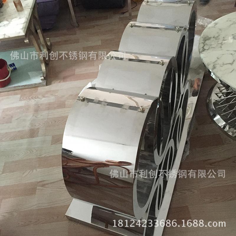 厂家定制不锈钢茶几客厅组合家具小户型家具电视柜创意茶几简约