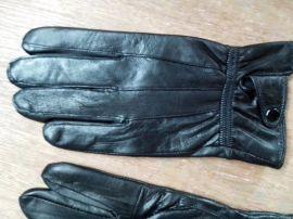 羊皮男士手套。真皮手套。厂家直销,单扣款2015年爆款