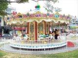 大型遊樂設備深圳12座旋轉木馬,全國送貨安裝