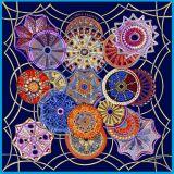 真絲絲巾大方巾定製-真絲數碼印花絲巾定做