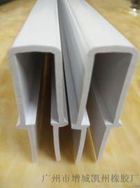 广州凯州厂家定做PVC方形线槽 ABS塑料挤出异型材 PVC挤出型材