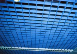 装饰格栅吊顶 玻璃钢格栅