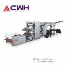 廠家供應卷筒紙自動水墨印刷機 [2+2] AFP-1060