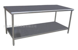 厨房304不锈钢双层工作台