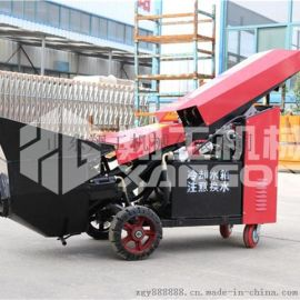 细石混凝土输送泵微型泵车二次构造柱泵