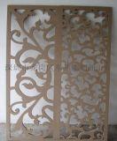 三亞雕刻廠家專業定制高密度板雕花鏤空隔板
