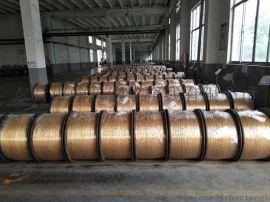 镀铜钢丝+胶管钢丝