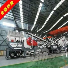 北京建筑垃圾移动式破碎站 生产效率高