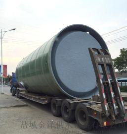 徐州一体化污水提升泵站 玻璃钢污水提升泵站