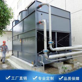 机械通风闭式冷却塔方形逆流式玻璃钢冷却塔