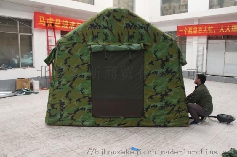 戶外迷彩露營充氣帳篷快速成型野外露營充氣帳篷