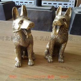 厂家定制小型动物雕塑小狗家居摆件