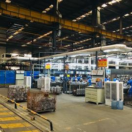 生产线员工降温空调_车间点式制冷空调_一体式空调