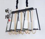 古鎮新中式布藝吊燈  大廳現代中式簡約鐵藝吊燈批發廠家