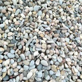 供应园林景观石用天然鹅卵石 黑鹅卵石