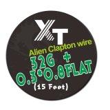 電子煙電阻花式發熱絲單芯Tiger clapton wire 5M每卷 芯0.5mm
