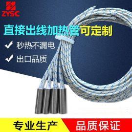 内出线直接出线微型电加热管干烧型单头电热管加热管发加热24v