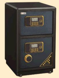 中都家具 ZD-DL-770S 470W*430D*770H 双门保险箱
