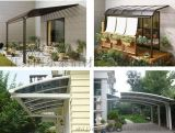 專業設計供應別墅鋁合金露臺雨棚 防曬遮陽棚