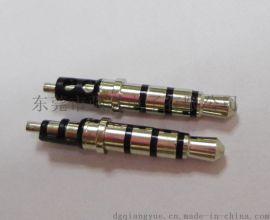 大量供应3.5*4.5*24.5四级耳机插针三声道插头