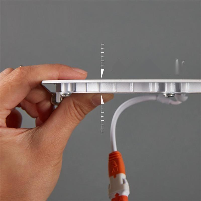 廠家直銷led 筒燈雙色面板燈方形圓形天花板燈防霧平板吸頂燈