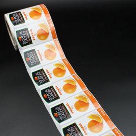 彩色标签/不干胶标签/铜版纸/食品不干胶贴纸/pvc不干胶标签