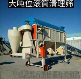厂家供应山东移动式小麦清理筛环保无灰尘零排放