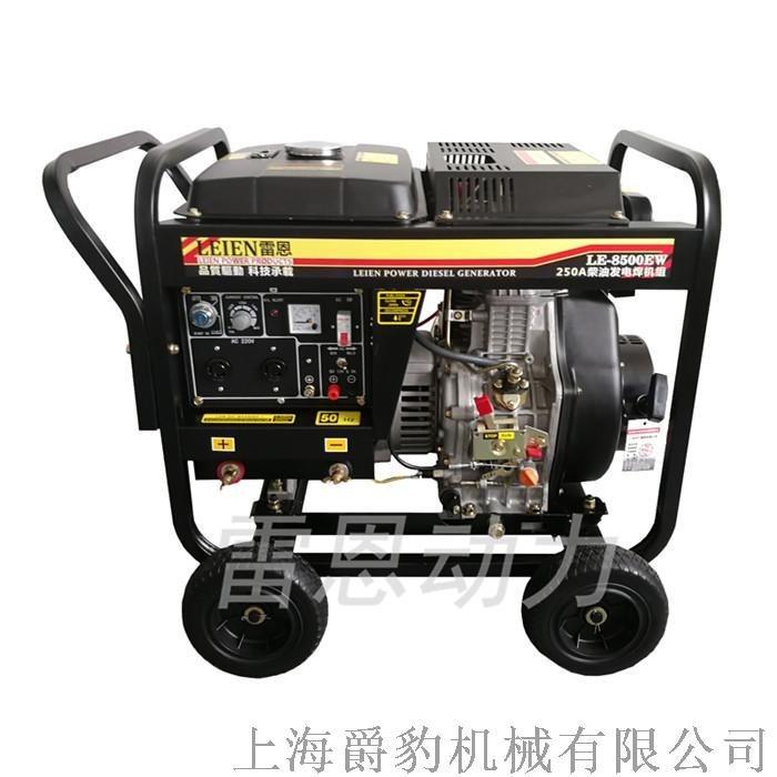 250A柴油发电电焊机 自发电两用焊机