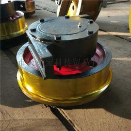 315单边主动车轮组 淬火调质车轮组 锻造车轮组