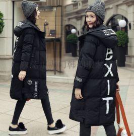 便宜女装棉衣外套羽绒服清货库存棉服冬季棉袄长款棉服