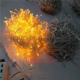 圣诞节装饰灯 户外防水灯串 led满天星