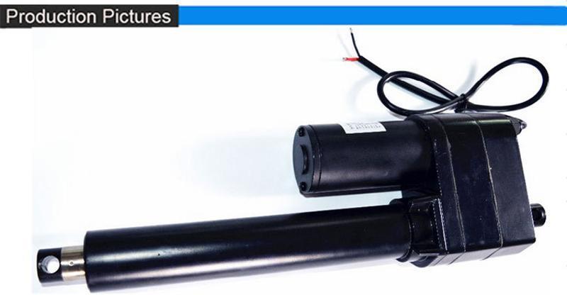 工業型電動直流推杆 大功率 高負載 低噪音 帶離合保護