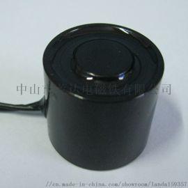 厂家直销强力圆形吸盘式电磁铁H2520直流24V
