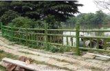 水泥仿竹圍欄模具 仿竹護欄模具 混凝土仿木護欄模具