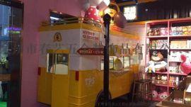 嘉定流动小吃餐车 定制冰淇淋车 多功能小吃车加盟